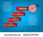 business infographics concept ... | Shutterstock .eps vector #680239900