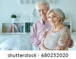 happy senior couple | Shutterstock . vector #680252020