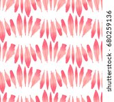 seamless pattern. flamingo... | Shutterstock .eps vector #680259136