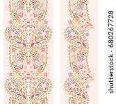 delicate  vertical seamless... | Shutterstock .eps vector #680267728