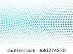 light blue vector banner set of ... | Shutterstock .eps vector #680274370