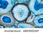 blue luxury marble texture with ... | Shutterstock . vector #680300269