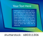 template green  blue and white... | Shutterstock .eps vector #680311306