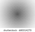 abstract halftone radial dotted ...