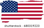 united states of america flag... | Shutterstock . vector #680319223