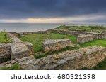 the ruins of the argamum... | Shutterstock . vector #680321398