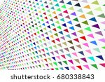 shape of mixed  abstract... | Shutterstock .eps vector #680338843