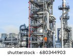 industrial zone the equipment... | Shutterstock . vector #680344903