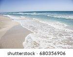 ocean sea background nature ...   Shutterstock . vector #680356906