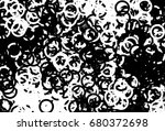grunge background of black and... | Shutterstock . vector #680372698