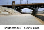 the los angeles river with...