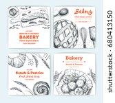 bakery vector illustration.... | Shutterstock .eps vector #680413150