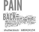 back pain a result of poor... | Shutterstock .eps vector #680424154