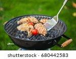 grill. | Shutterstock . vector #680442583