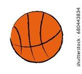 basketball ball sport equipment ...   Shutterstock .eps vector #680443834