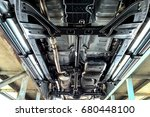 Small photo of Suspension car, Chassis pickup, Fuel tank, Exhaust pipe