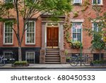 the front of an ornate... | Shutterstock . vector #680450533