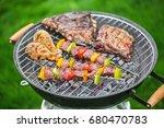 grill. | Shutterstock . vector #680470783
