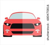 vector car icon.vector logos... | Shutterstock .eps vector #680470816