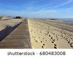 Beach Path Along Atlantic Ocea...
