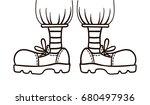 vector  outline illustration ... | Shutterstock .eps vector #680497936