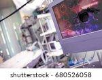 concept of modern technical... | Shutterstock . vector #680526058