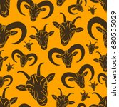 seamless pattern or background...   Shutterstock .eps vector #680555029