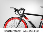bicycle. a realistic poster... | Shutterstock .eps vector #680558110