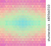 abstract geometric seamless... | Shutterstock . vector #680566510