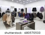 luxury and fashionable brand... | Shutterstock . vector #680570533