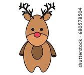cute christmas reindeer...