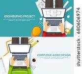 vector illustration.... | Shutterstock .eps vector #680606974
