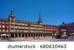 plaza mayor   madrid  spain     ... | Shutterstock . vector #680610463