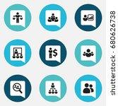 set of 9 editable community...