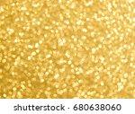gold bright festive background... | Shutterstock . vector #680638060