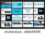 templates  presentation for...   Shutterstock .eps vector #680645098