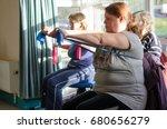 glastonbury  uk   2014  07... | Shutterstock . vector #680656279