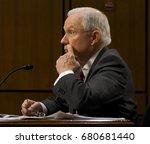 us. attorney general jeff... | Shutterstock . vector #680681440