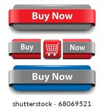 buy buttons set for website ... | Shutterstock .eps vector #68069521