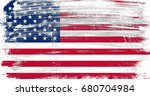 united states of america flag... | Shutterstock . vector #680704984