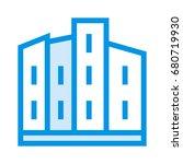 building icon | Shutterstock .eps vector #680719930