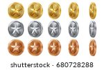 game gold  silver  bronze coins ...