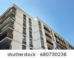 modern  luxury apartment... | Shutterstock . vector #680730238