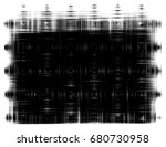 grunge background of black and... | Shutterstock . vector #680730958