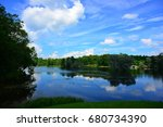 landscape | Shutterstock . vector #680734390
