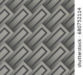 abstract diagonal stripe... | Shutterstock .eps vector #680752114