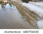 powerful water soft blur | Shutterstock . vector #680756020