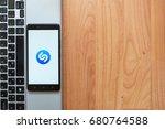 los angeles  usa  july 18  2017 ... | Shutterstock . vector #680764588