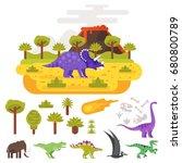 vector flat style illustration... | Shutterstock .eps vector #680800789