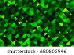 light green vector red banner... | Shutterstock .eps vector #680802946
